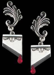 antoinette earrings alchemy antoinette guillotine earrings
