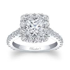 princess cut engagement rings with halo barkev s princess cut halo engagement ring 7939l