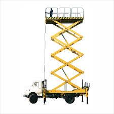 multi scissor platform truck mounted hla