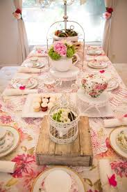 kitchen tea theme ideas the 25 best tea tables ideas on tea table settings