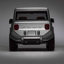white bronco car 2020 ford bronco will be body on frame to share platform with