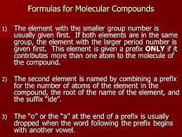 modern chemistry chapter 7 chemical formulas u0026 chemical compounds