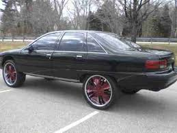 Used 24 Rims Sell Used 1991 Chevrolet Caprice Classic Sedan Custom Lifted Donk
