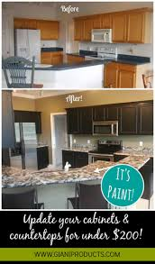 Easy Kitchen Cabinet Makeover 47 Best Nuvo Cabinet Paint Images On Pinterest Countertop Paint