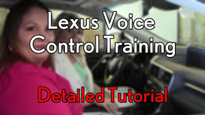 used lexus rx 350 madison wi how to train the lexus voice recognition system in a 2016 lexus rx