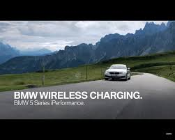 ev wireless charging goes oem with bmw 530e iperformance