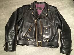 motorcycle style jacket pre offer johnson leathers d pocket vintage style motorcycle