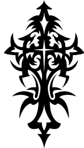 tattoo u0027s for cool tribal cross tattoo designs clip art library