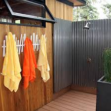 Outdoors Shower Curtain by Sunbrella Outdoor Shower Curtain Design Ideas For Outdoor Shower