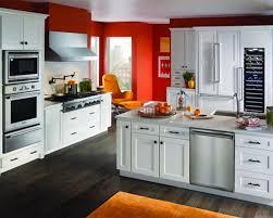 red and white kitchen designs kitchen modern kitchen design with black and white wall color