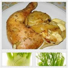 cuisiner le fenouil poulet au roquefort fenouil et noix la cuisine des anges