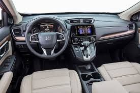 honda crv 2016 interior 2017 honda cr v touring first drive review automobile magazine