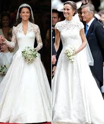 dress wedding pippa middleton wedding dress giles deacon dress the lace and