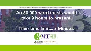 uq engineering thesis three minute thesis college of graduate studies university of idaho 3mt competition