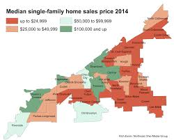 Map Of Northeast Ohio by Home Prices Up Across Most Of Cleveland Strongest In Edgewater