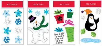 Christmas Window Gel Decorations by Best Christmas Window Decorations Both Inexpensive And Very