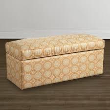 custom rectangular storage bench bassett furniture