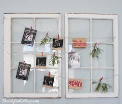 christmas card display holder christmas card display the lilypad cottage