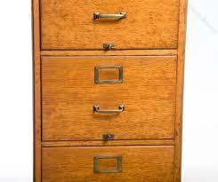 Vintage Oak Filing Cabinet Antique Oak File Cabinet 4 Drawer With Vintage 1920 S Golden