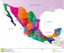 Chihuahua Mexico Map by Map Of Mexico Royalty Free Stock Photography Image 6400117