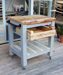 handmade rustic farmhouse style reclaimed wood butchers block