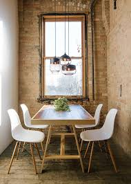 30 ways to create a trendy industrial dining room Small Dining Room