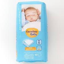 carrefour baby mattress mats 60x90cm 10 per pack from ocado