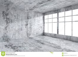 empty spotted concrete room wall stock illustration image 69385651