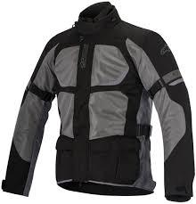 red and black motorcycle jacket alpinestars santa fe air drystar motorcycle textile jacket