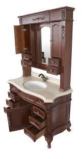Antique Looking Bathroom Vanities Constance Ii Antique Style Bathroom Vanity Single Sink 49 1