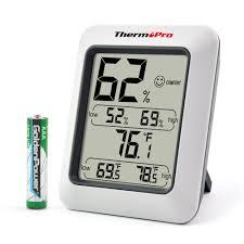 Comfortable Indoor Temperature Amazon Com Thermopro Tp50 Digital Hygrometer Indoor Thermometer
