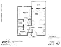 Floorplans Independent Living Floor Plans Nazareth Living Center