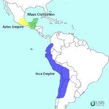 aztec mayan inca map usis me the study abroad program finder