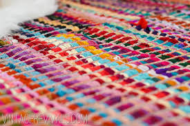 How To Make A Area Rug Chindi Licious How To Make A Rug Out Of 6 Smaller Ones