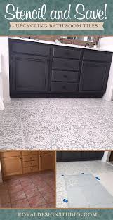 Bathroom Tile Refinishing Kit - best 25 painting tile floors ideas on pinterest painting tiles