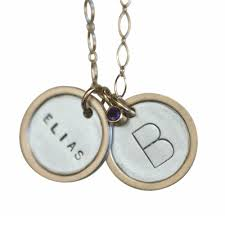 Necklaces With Children S Names Jewelry With Kids Names On It