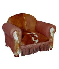 Cowhide Chairs And Ottomans Artisan Crafted Rustic And Western Furniture And Decor