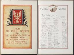 poland once gave america a birthday card with 5 5 million