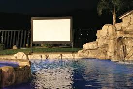 Backyard Projector The Latest In Outdoor Tv And Sound Newhomesource