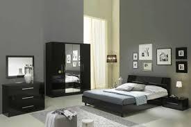 chambre a coucher complete adulte glorino chambre coucher compl te noir laqu modiva avec a complete