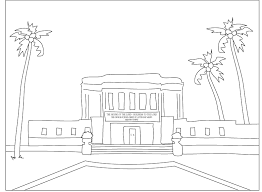 lds temple coloring pages temple marriage image 8375