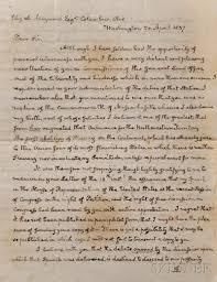 adams john quincy 1767 1848 autograph letter signed 20 april