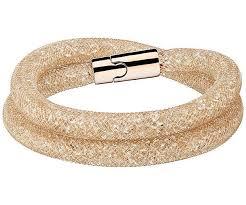 swarovski gold plated bracelet images Swarovski gold plated stardust deluxe bracelet 5184192 ebay jpg