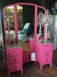 Pink Vanity Table 93 Best Makeup Vanity Images On Pinterest Bedroom Ideas