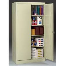 Tall Metal Storage Cabinet Metal Storage Cabinets For Any Purpose Indoor U0026 Outdoor Decor