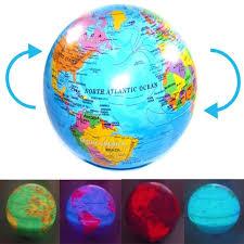 earth globes that light up spinning magic revolving rotating led light up world earth map globe