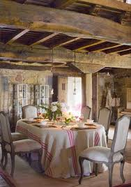 French Country Dining Room Decor by 18 Rustic U0026 Romantic Dining Rooms Romantic Room Ideas And Cabin