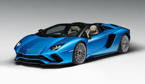 Lamborghini Aventador J Blue - lamborghini u0027s aventador s roadster is a 217mph hair drying missile