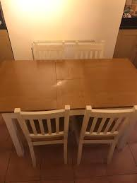 Homebase Chairs Dining Homebase Chilton Extending Dining Table And 4 X Chairs In