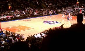 madison square garden section 104 home of new york rangers new